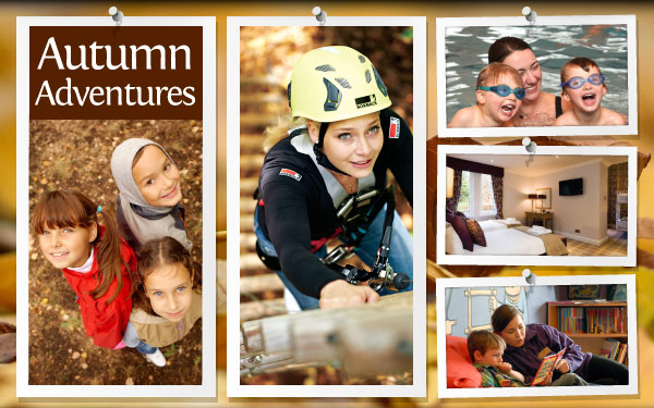 Plan your family break at Crieff Hydro this autumn.