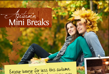 Autumn Mini Breaks at Crieff Hydro