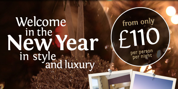 Welcome in the New Year in Luxury and Style.