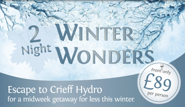 Escape to Crieff Hydro for a midweek getaway for less this winter.