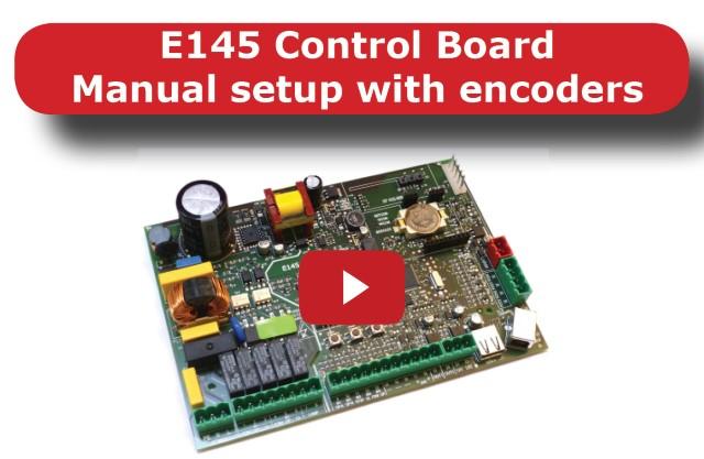 Faac E145 Video