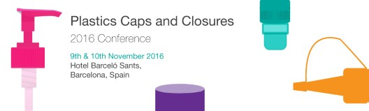 Plastics Caps and Closures Conference 2016  9th and 10th November 2016 @ Hotel Barcelo Sants, Barcelona