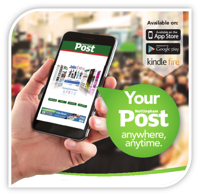 Nottingham Post digital app