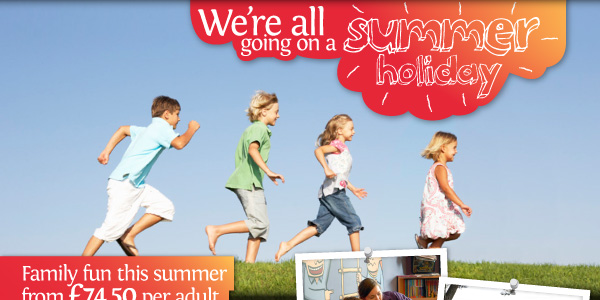 Under 2's stay FREE Kids rates start from £22.50 including dinner, bed and breakfast