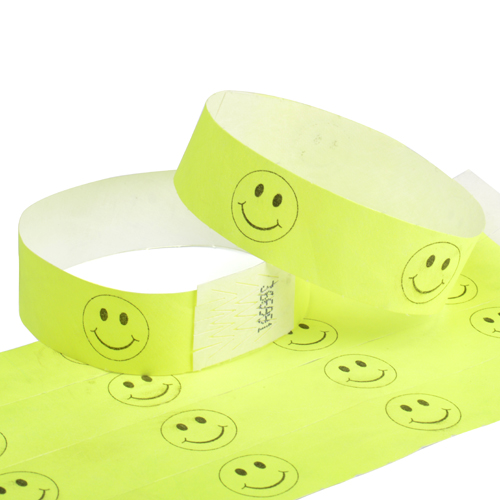 Custom Paper Wristbands