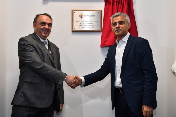 Mayor of London opens new lab space in East London