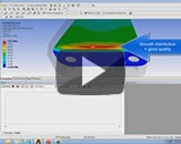 CADFEM Tutorial No.2 – Refining a Mesh in ANSYS® Workbench™