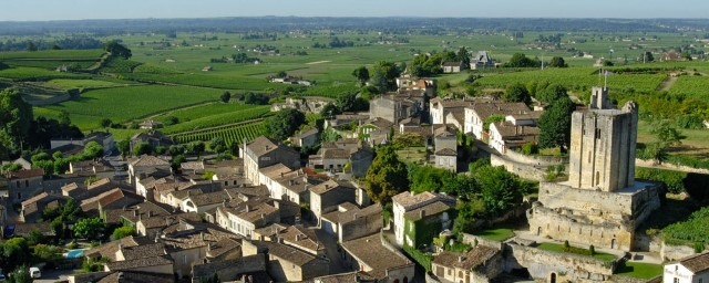 The beautiful town of St Emilion