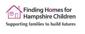 Finding homes for Hampshire children logo