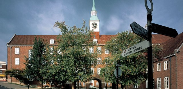 Hampshire County Council headquarters in Winchester